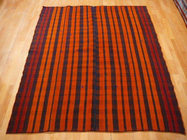 12156  Persian Jadjim Quashgai semi antique rug  6.4 x 5.1 ft