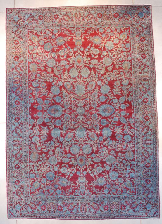 Antique Agra Oriental Rug #7650