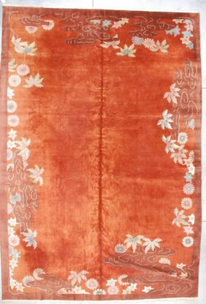 Art Deco Chinese Rug #7145 image