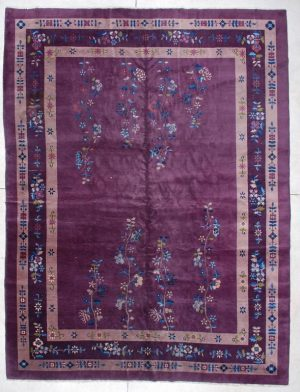 Antique Art Deco Chinese image Rug 6144