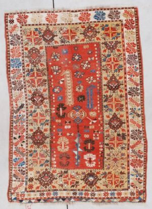 Antique Melas Turkish Rug #7352 image