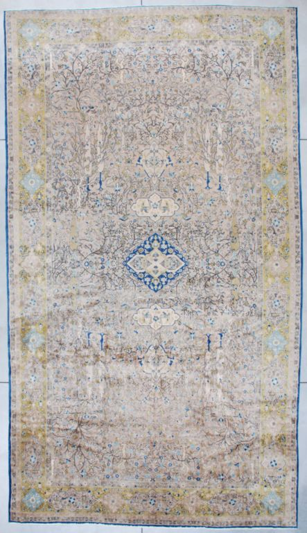 Antique Amritsar Rug from India #7361 image