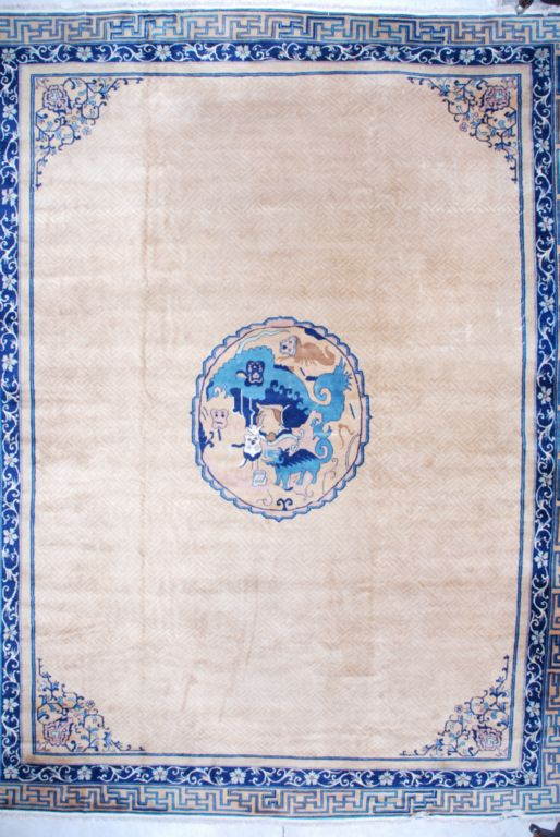 #7106 Antique Indo Chinese Carpet image