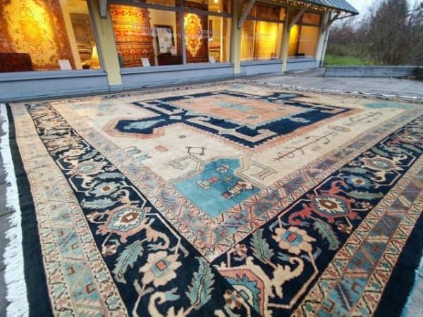 20 x 16 ft Azeri Oversized Rug Djoharian Collection