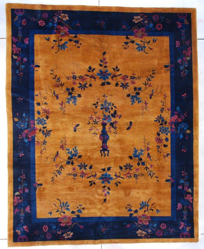 7589 Art Deco Chinese Oriental Rug image
