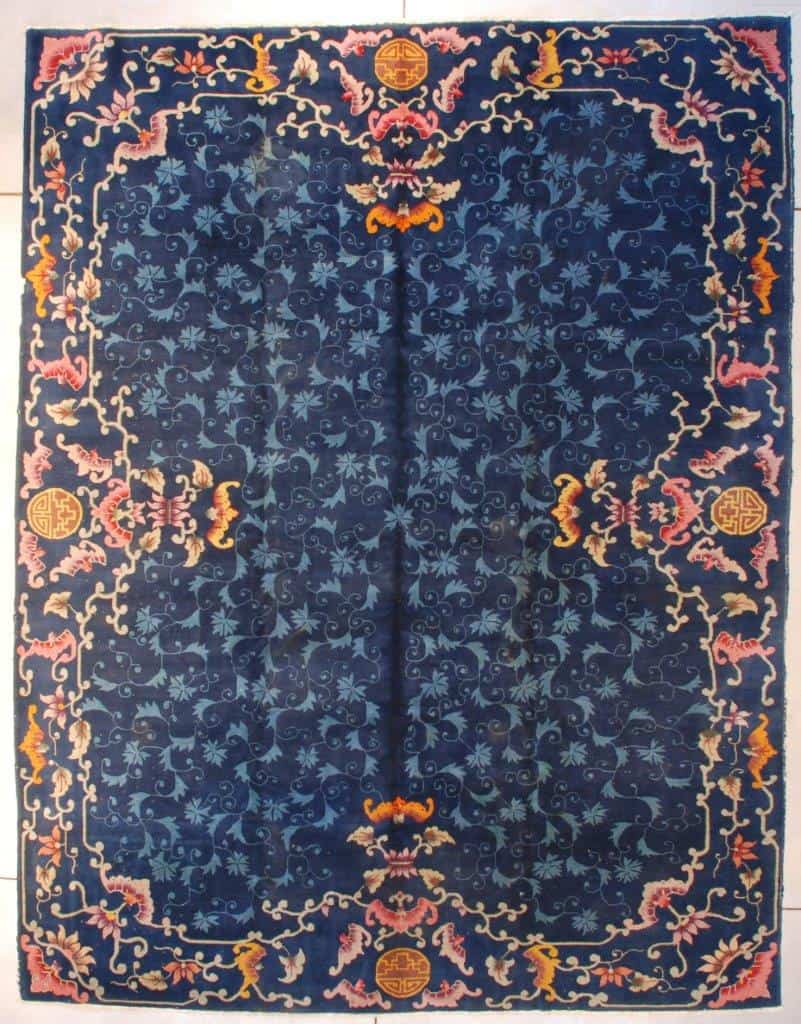 7665 Art Deco Chinese Oriental Rug image