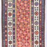 "Antique Talish Rug 3'6"" X 7'8"" #7685"