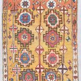 "Very Antique Konya Oriental Rug 4'5"" X 6'8"" #7806"
