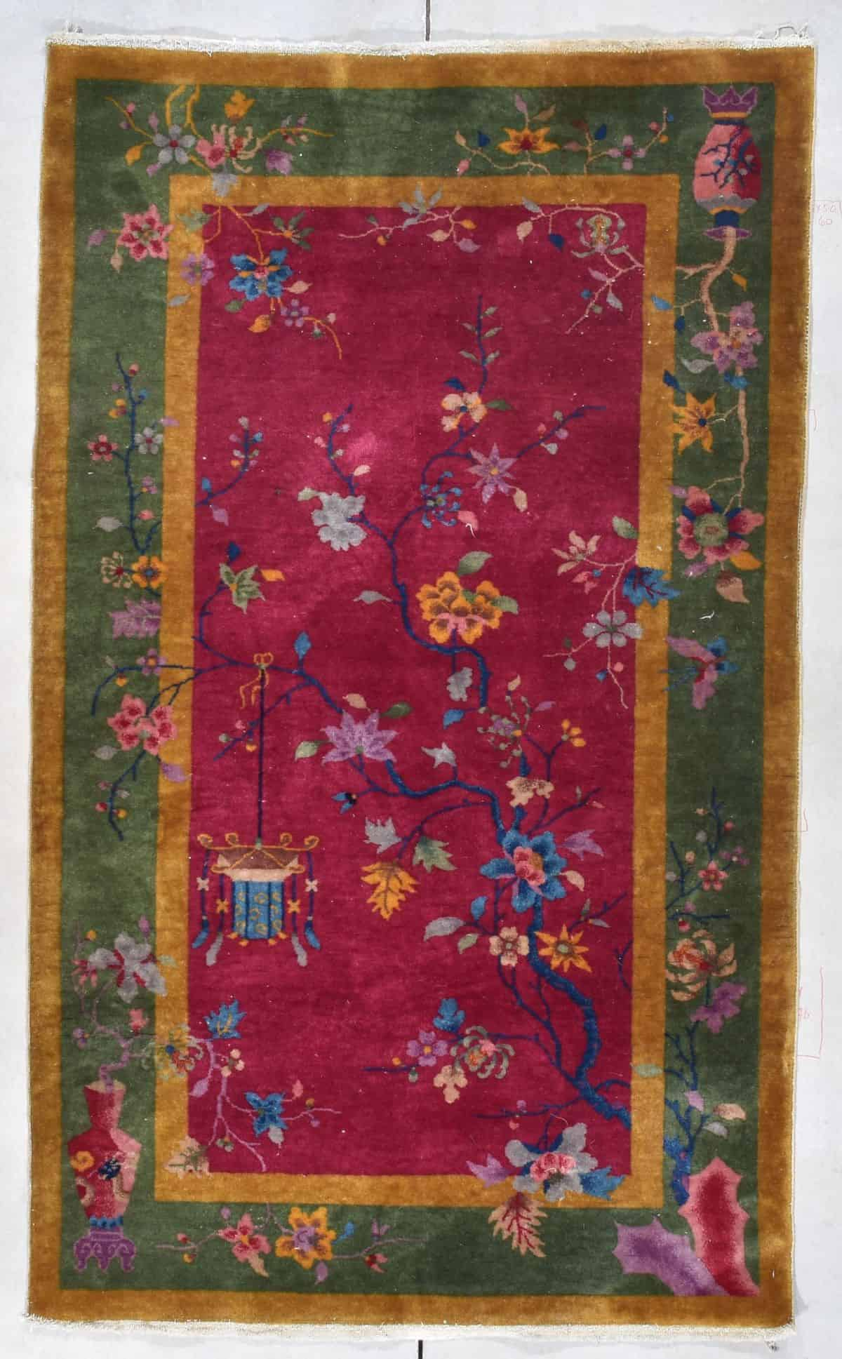7845 Art Deco Chinese rug #7844 image