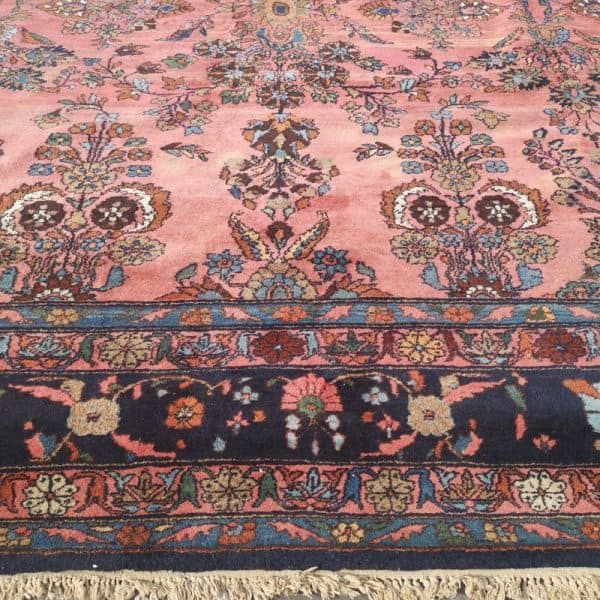 21 x 13 ft Oversized Persian Rug Mehraban with Sarouk style