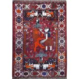 Gashgai Persian Lion Rug