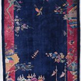 Art Deco Chinese Oriental Rug #7864