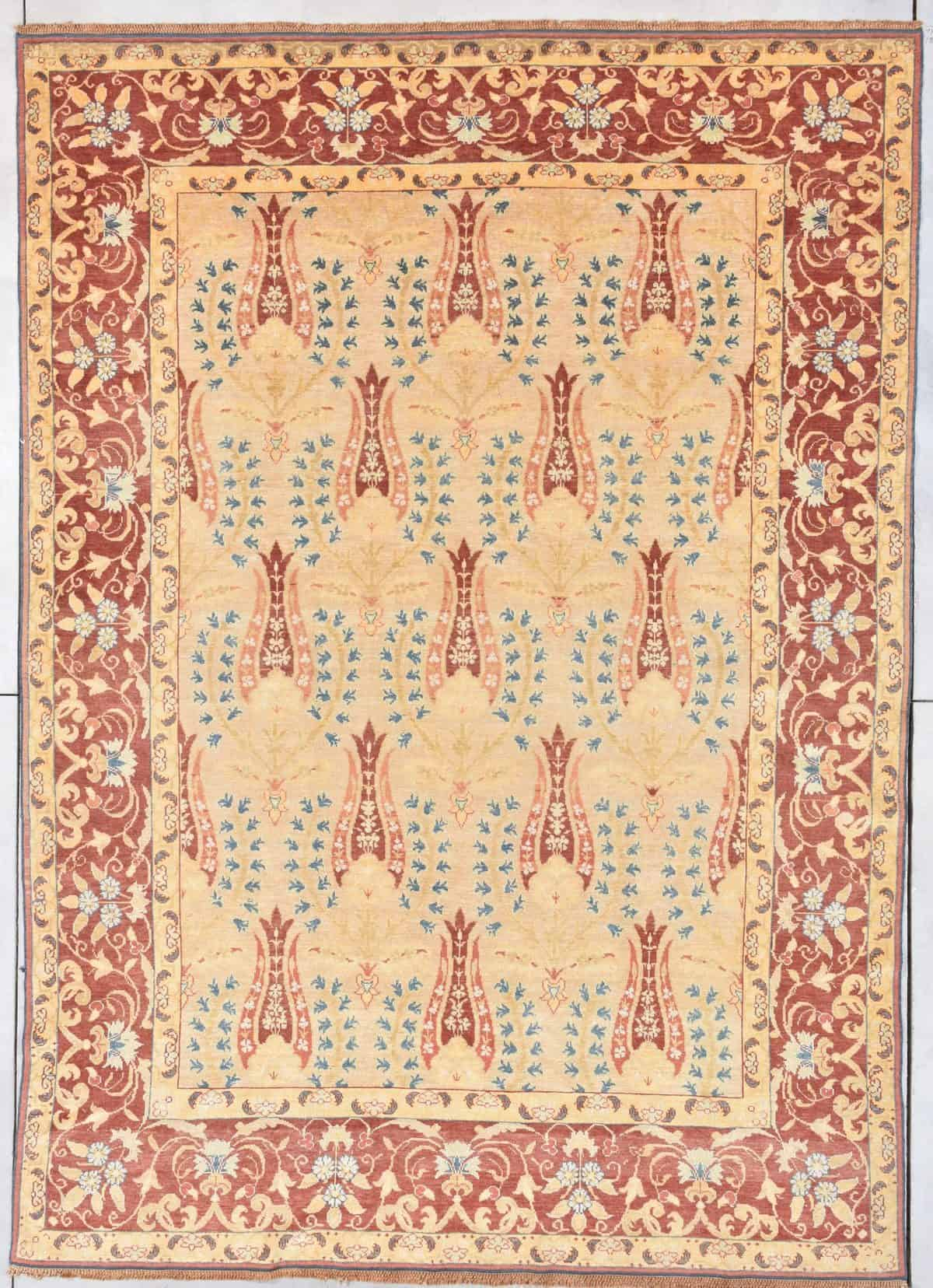 Antique european handmade carpet