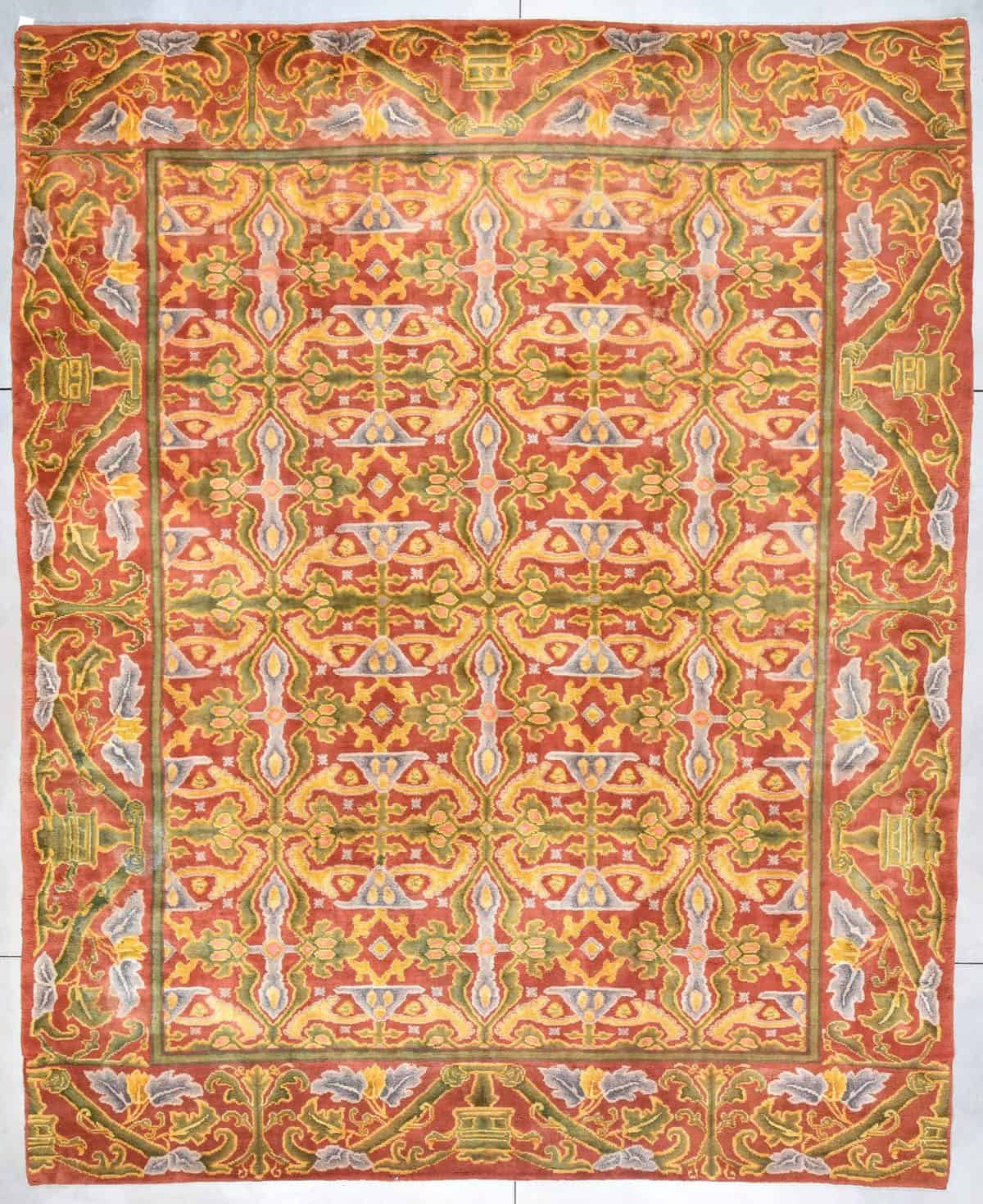 Donnegal rug oversized antique