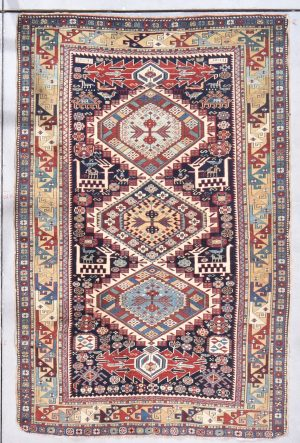 antique shirvan rug image 7861