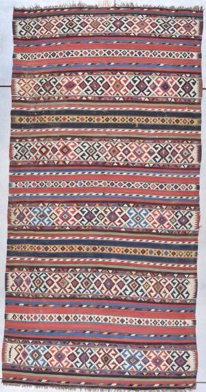 antique Shirvan kilim rug image 7878